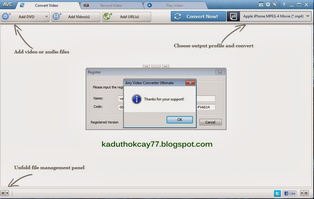 Download Any Video Converter 5.5.3 Terbaru Full version