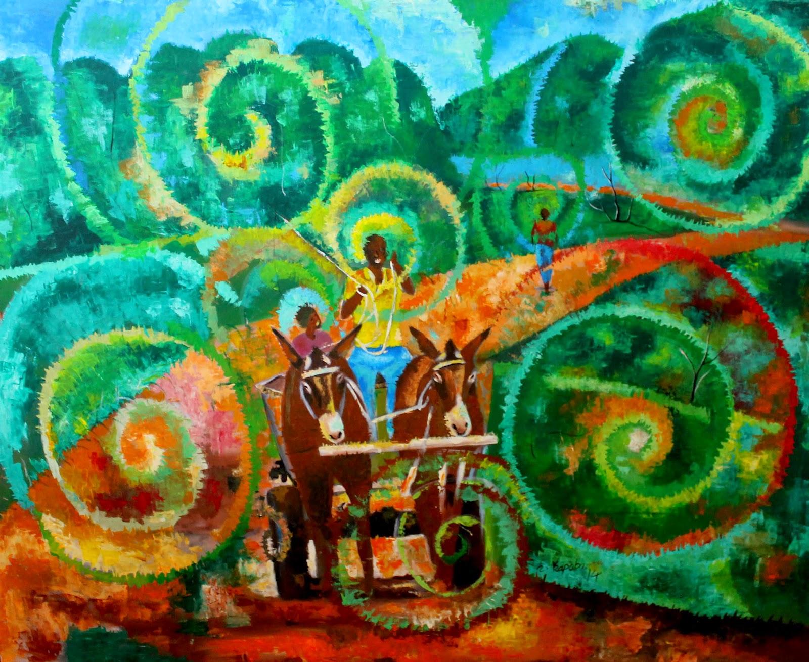 Andrew Mulenga\'s Hole In The Wall: Kapobe\'s Whispering Colours set ...