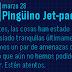 ¡Nuevo mensaje del Pingüino Jet-pack!