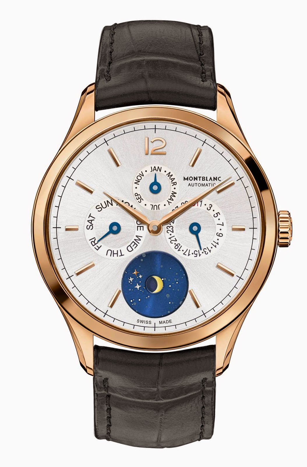 Sihh 2015 montblanc heritage chronom trie quanti me annuel vasco da gama time and watches for Vasco watches