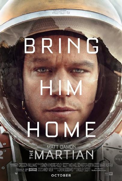 Poster Of The Martian 2015 720p Hindi BRRip Dual Audio Full Movie