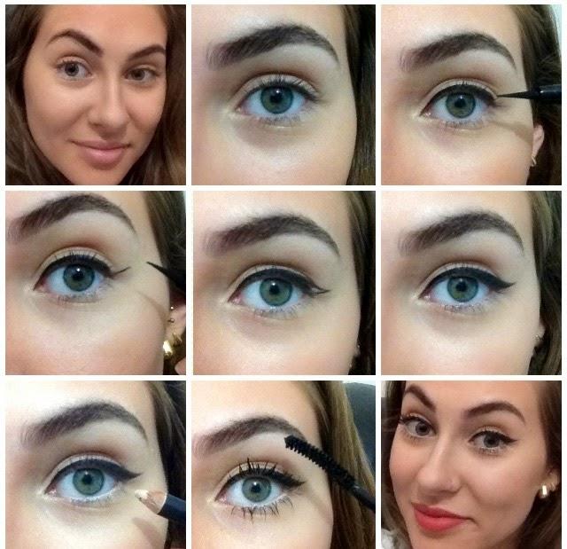 Luana Capelletti Makeup Delineado Gatinho