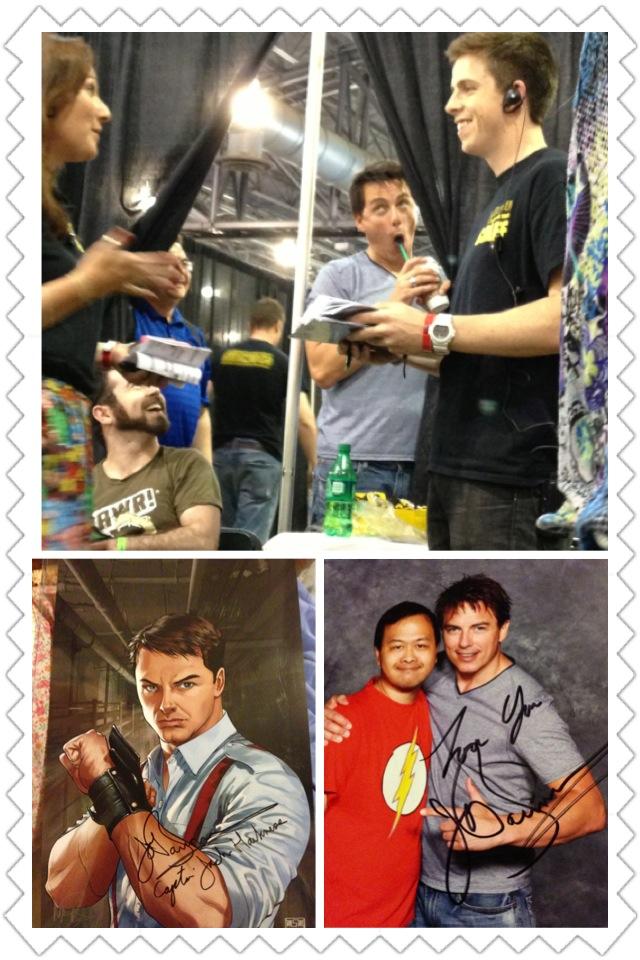 Comic Con 2013 John Barrowman Comic Con as a John