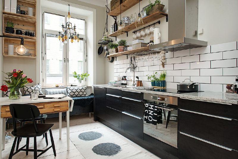 Mueblesdepalets.net: estanterías con tablas de palets para cocina
