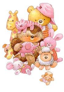 imagens para decoupage de ursinhos fofos
