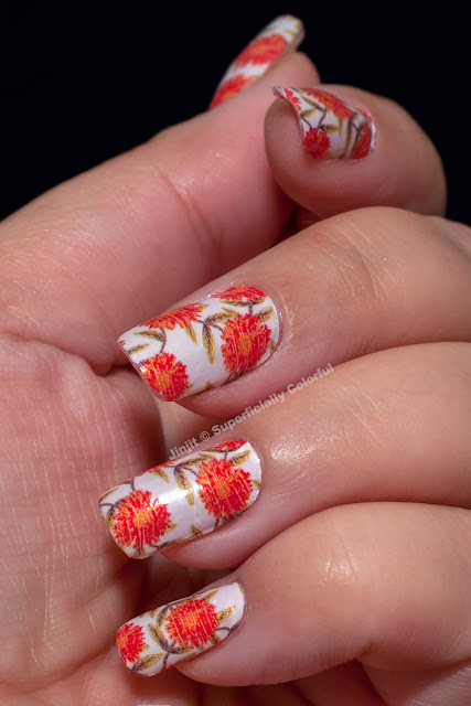 Incoco Real Nail Polish Appliqué in Garden Party