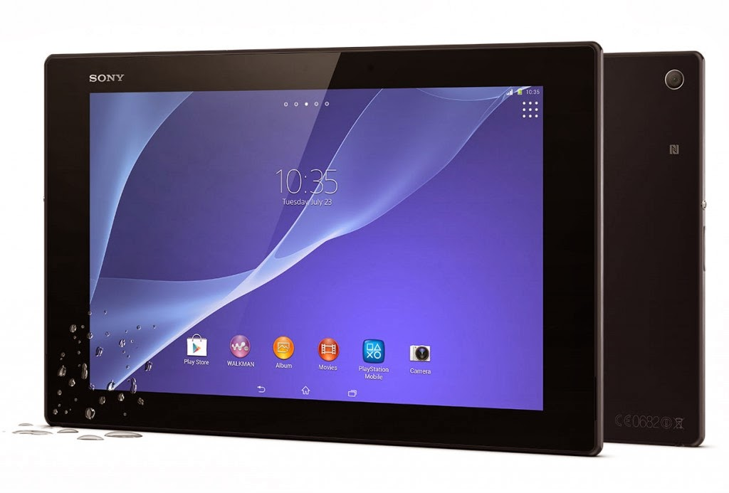 Pihak Sony klaim Xperia Z2 Tablet paling tipis dan enteng
