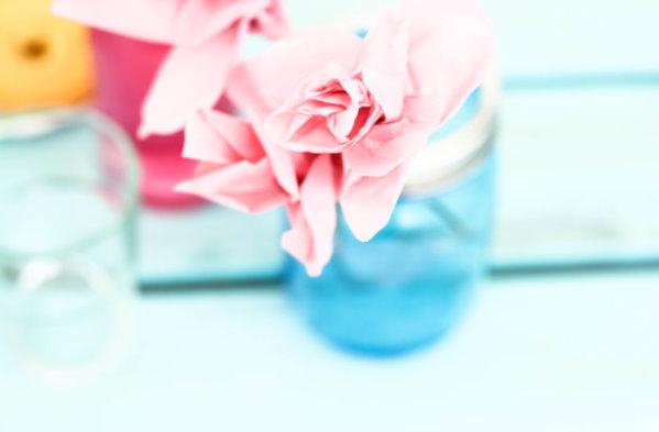 DIY Papierblumen