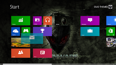 2013 Alienware Theme For Windows 8
