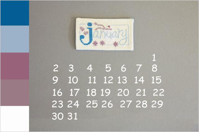 Календарь - Январь