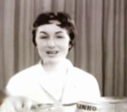 Propaganda do Leite Ninho nos anos 60. Primórdios das 'garotas-propaganda'