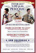 Manolo Vanegas, debutara en México, en Peto, Yucatán, el 19/02.