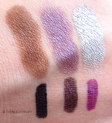 prestige cosmetics swatches - the beauty puff