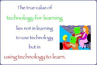 Using tchnology to learn