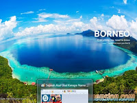 Pulau Kalimantan Borneo