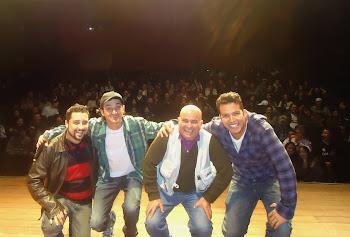 Com Osvaldo Barros, Lázaro Câmara e Paulo Deodato
