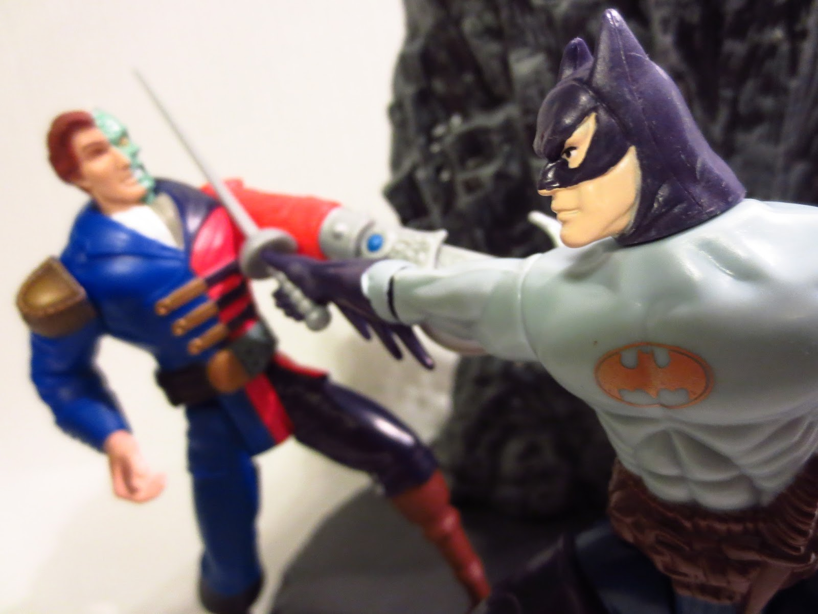 Pirate batman and pirate two face from legends of batman by kenner