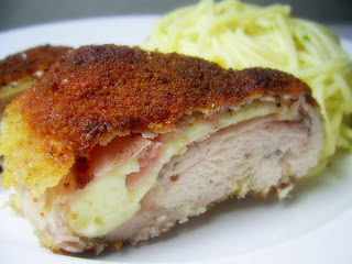 picture of Chicken Cordon Bleu home made