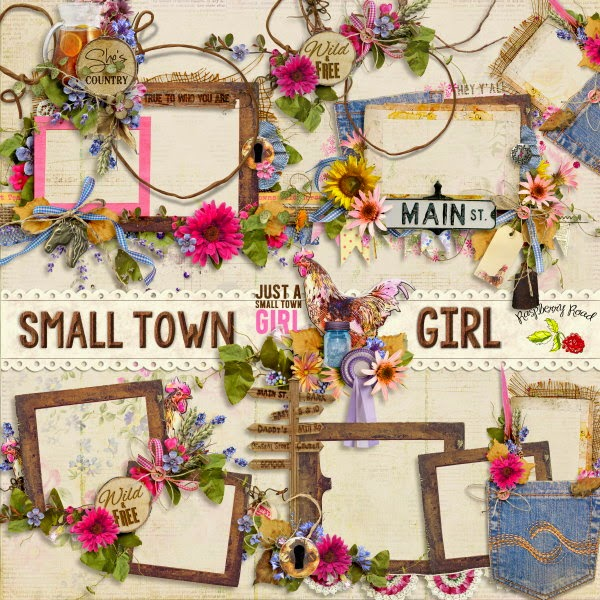 Small Town Girl Collection & Freebie