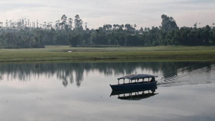Situ Cipanunjang di Pangalengan