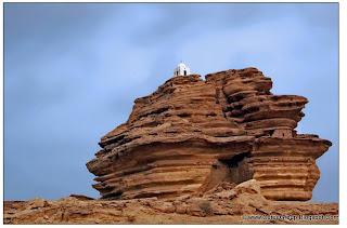"""""""Arror Rock"""" [near Rohri in Sindh]"""