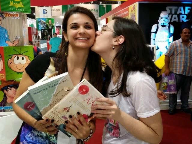 Entrevista - Autora Marina Carvalho fala sobre seu novo livro: Elena, a filha da princesa, que será publicado pela Galera Record