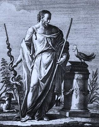 Dr Mollet M. - La Médecine chez les Grecs avant Hippocrate (460 av. J.C.).