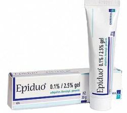 Epiduo, acne
