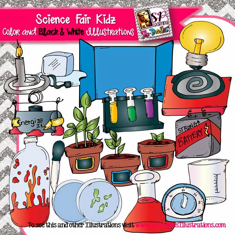 https://www.teacherspayteachers.com/Product/Ultimate-Science-Science-Fair-Kid-clip-art-1678443