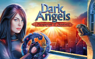 Screenshots of the Dark Angels for Android tablet, phone.