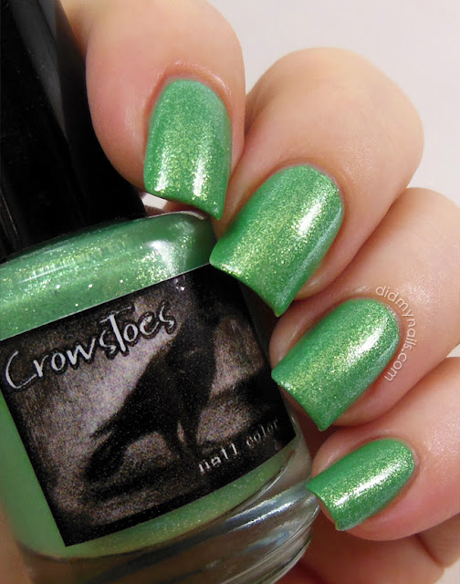CrowsToes Green Thumb of Doom swatch
