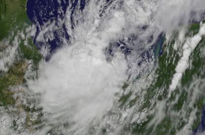 Tropischer Sturm NATE bildet sich im Golf von Mexiko, Nate, Golf von Mexiko, Mexiko, Yucatán, Veracruz, Louisiana, September, aktuell, Sturmwarnung, 2011, Hurrikansaison 2011,