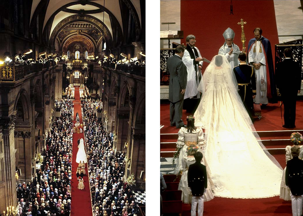 The Marriage of Prince Charles and Lady Diana Spencer (3): On Cathedral