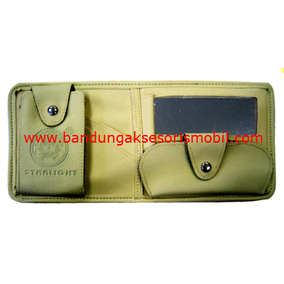 CD Bag Kulit + Cermin SL 298 Cream