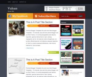 Vulcan Blogger Template