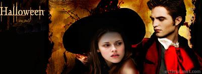 Capas para Facebook halloween a Saga de Crepusculo