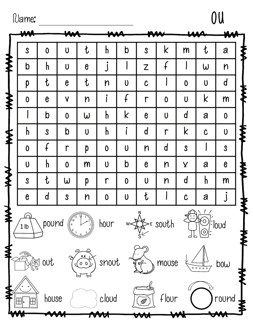 word work phonics