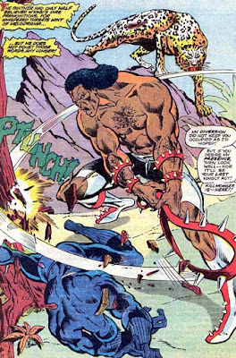 Jungle Action #6, the Black Panther, Killmonger
