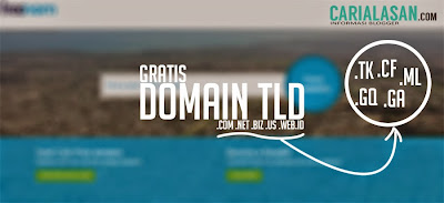 cara mendapat domain .com gratis 1 tahun