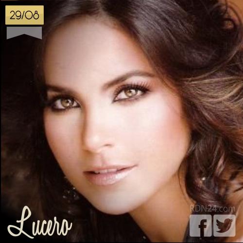 29 de agosto | Lucero - @LuceroMexico | Info + vídeos