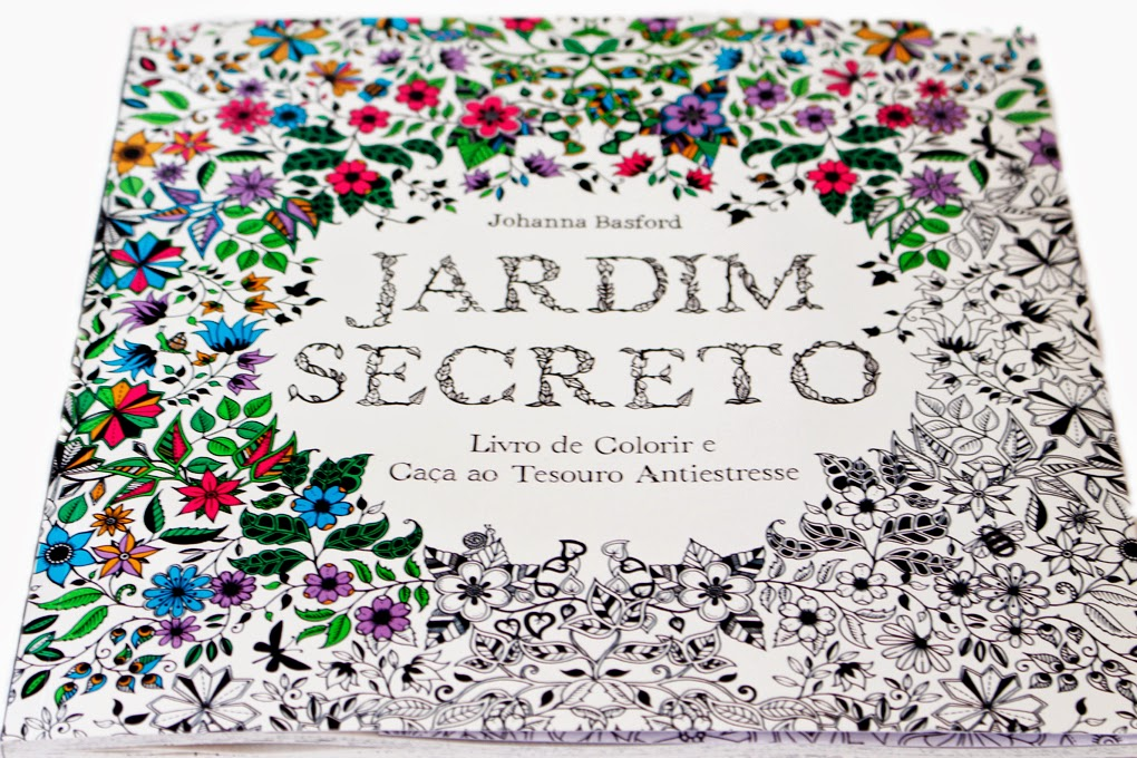 fotos do livro jardim secreto:Jardim Secreto