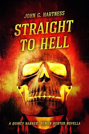 cover, image, John Hartness, Straight to Hell, horror, humor