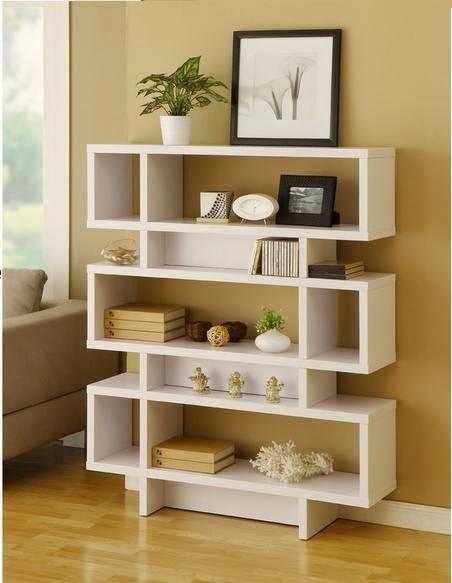 Muebles tercia dos librero y repisa a piso 4 niveles cod 76 for Repisas en espacios pequenos
