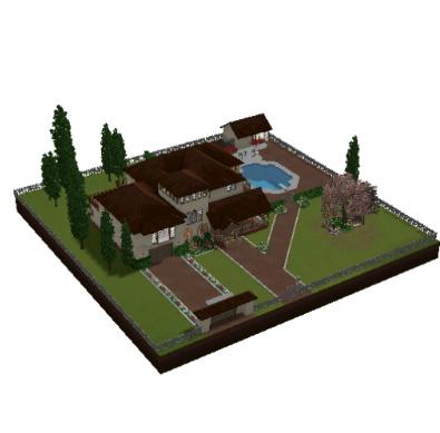 Missgerbit casas y sims for Casa moderna los sims 3