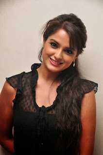 Asmita Sood Pictures in Tight Jeans at Aadu Magaadra Bujji Success Meet
