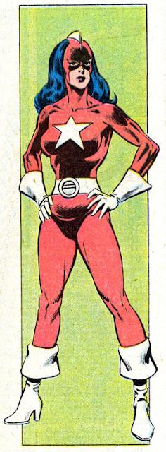 Dibujo de Guardiana Roja-Marvel