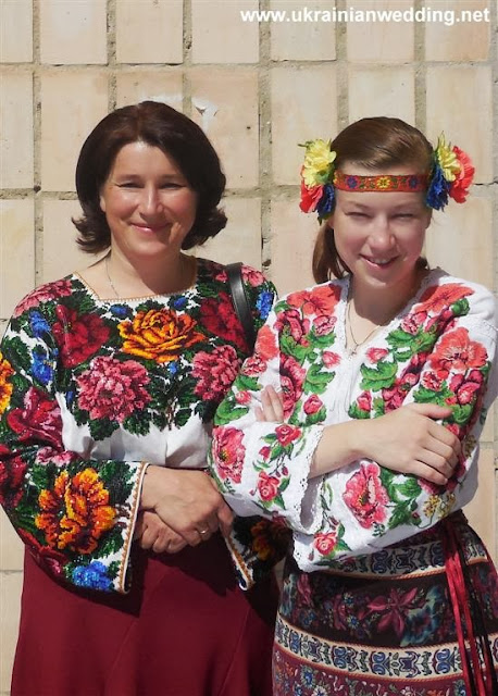 Оксана Гребеняк з дочкою