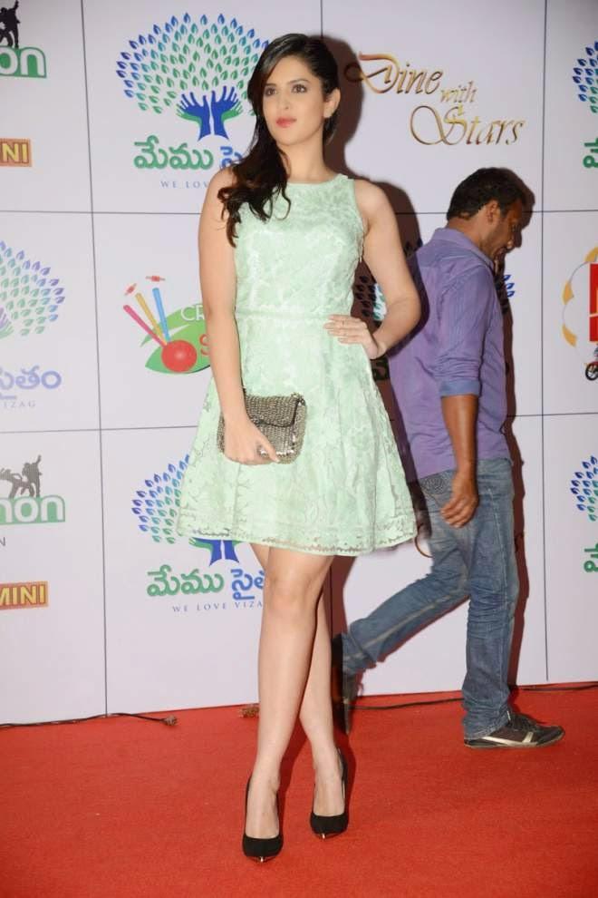 Deeksha Seth Spicy Legs Show Photo