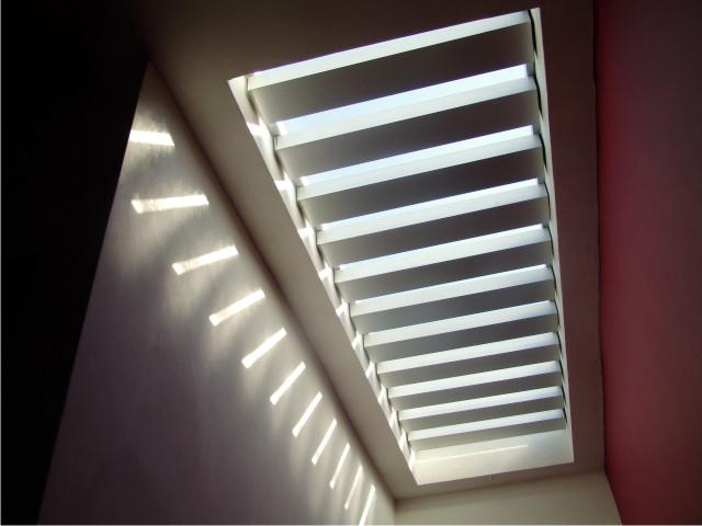 Iluminacin con microdomos Quiroz Hbitat y Arquitectura