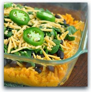 Savory Mexican Sweet Potato Casserole